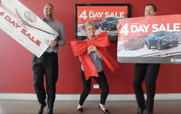 The Holden 4 Day Sale has arrived at Wakeling Automotive